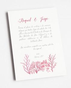 Invitación de boda...